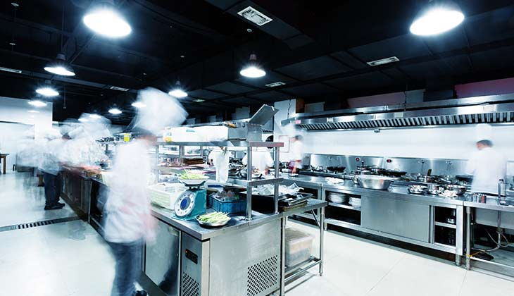 Commercial Kitchen Floor
