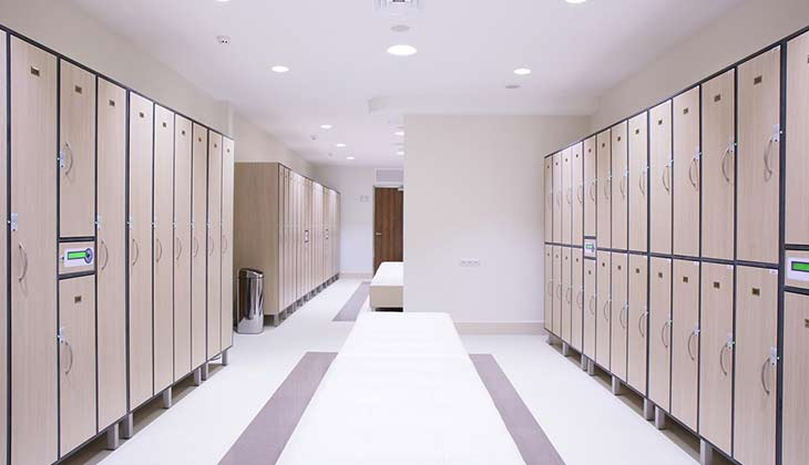 An anti-slip floor coating will make your locker rooms safer than ever before.