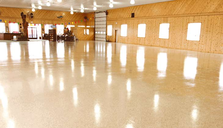 Showroom Floor Coating