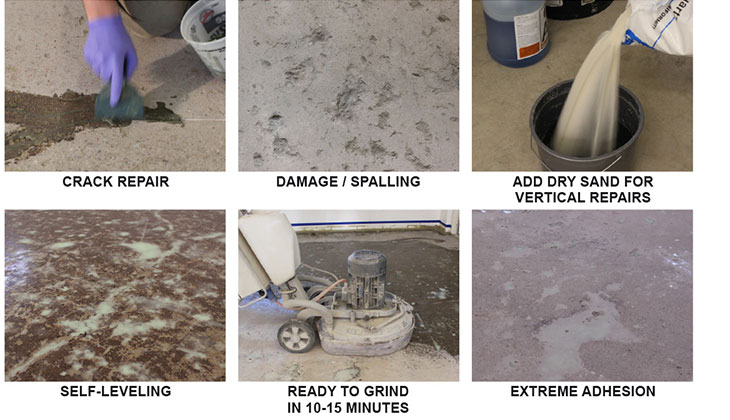 Don't replace damaged concrete when our repair solutions can make the surfaces look new again!